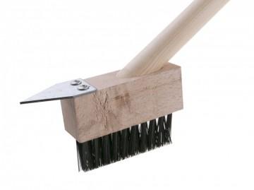 Četka za čišćenje behatona za mahovinu i korov - čelična