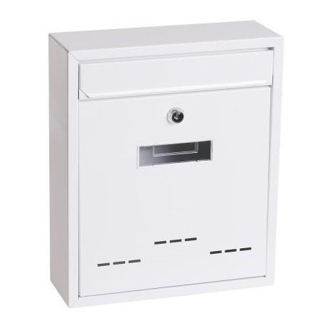 Poštansko sanduče belo 31x26x9cm Levior