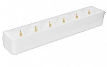 Produžni kabel - razvodnik 6 utičnica 3x1.5mm - 1.5m Prosto