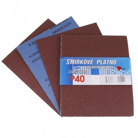 Brusni papir 230x280 10kom gr. 40-120 Levior