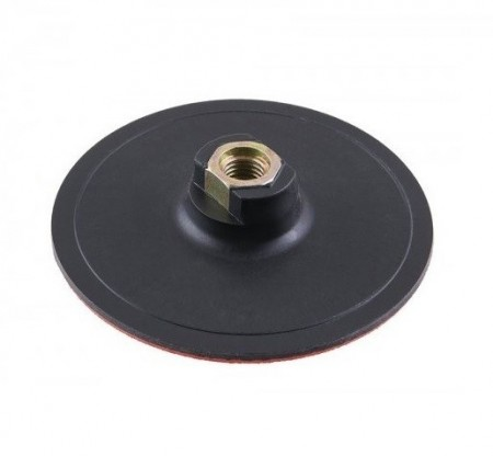 Gumeni disk za brusilicu - čičak 125mm Levior