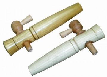 Sajtov za bure - drvena slavina 175x35mm