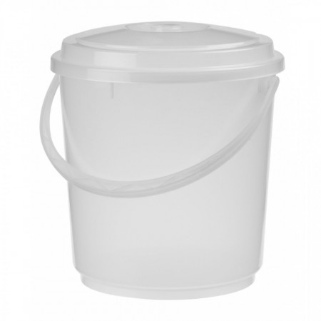 Kanta - kofa plastična sa poklopcem 5L