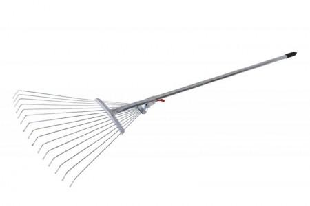 Slika Metlica - grablje za lišće podesive sa drškom Levior