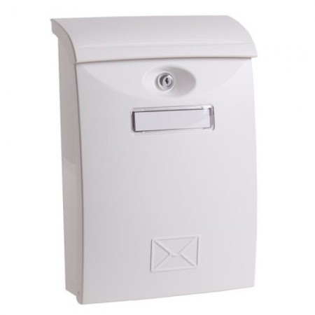 Poštansko sanduce PVC belo 24x11x35cm immagini
