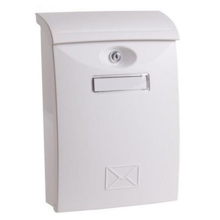 Poštansko sanduce PVC belo 24x11x35cm изображений