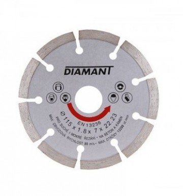 Rezna ploča dijamantska segmentna 115-230mm Levior
