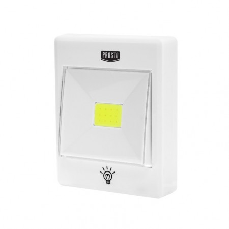Baterijska LED lampa prekidač 3W ISKRA