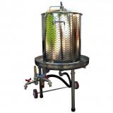 Presa za grožđe na vodu INOX 55L VS-A LANCMAN
