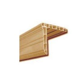 Garnišna tri kanala PVC braon 2-4m