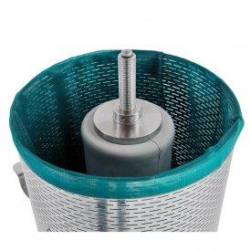 Presa za grožđe na vodu INOX 160L Zottel