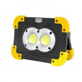 Prenosni punjivi LED reflektor 2x10W PROSTO