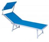 Aluminijumska ležaljka za plažu – teget plava BALI