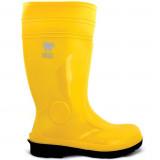 Gumene čizme sa zaštitnom kapom žute 36-47 VUKO SAFE