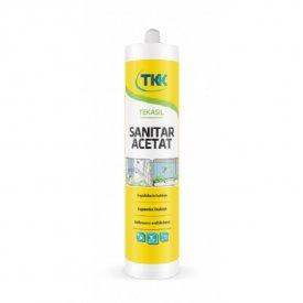 Silikon sanitar acetat TKK beli 280ml