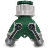 Adapter za crevo - 2 priključka inox RAIN