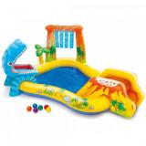 Dečiji bazen 249x191x109cm Dinosaurus Play Centre