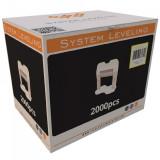 Spone za nivelaciju pločica 3mm - 2000kom. SYSTEM LEVELING