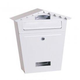 Poštansko sanduče belo 29x36x11cm Levior