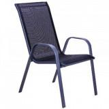 Baštenska stolica - crna COMO