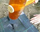 Klin za fiksiranje agrotekstil folija 18cm 20kom.