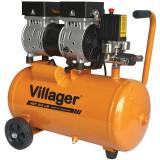 Kompresor bešumni 8bara, 24L - 750W VAT 24 LS VILLAGER