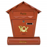 Poštansko sanduče braon 45x37x10cm STREND PRO