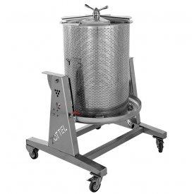 Presa za grožđe na vodu INOX 250L Zottel