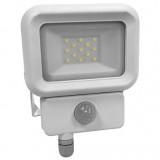 Reflektor LED sa PIR senzorom 10W - beli
