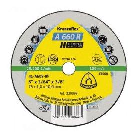 Rezna ploča za inox supra 125 x 1 Klingspor
