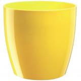Saksija RIO žuta 14x13cm DiMartino