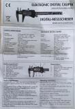 Šubler digitalni 150mm BMI