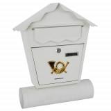 Poštansko sanduče belo 45x37x10cm STREND PRO