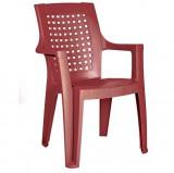 Baštenska stolica - bordo EMA