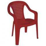 Baštenska stolica - bordo VALERIJA