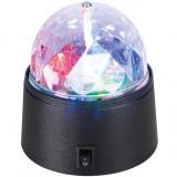 Prenosna LED disko lampa na baterije
