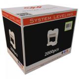 Spone za nivelaciju pločica 1mm - 2000kom. SYSTEM LEVELING