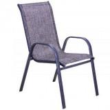 Baštenska stolica - siva COMO