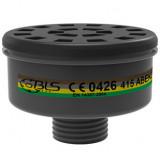Filter ABEK2 za organske, neorganske gasove i isparenja za respirator masku BLS 3150