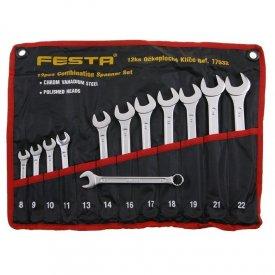 Ključevi kombinovani komplet 8-22mm FESTA