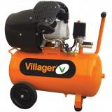 Kompresor bešumni 8bara, 50L - 2200W VAT VE 50 VILLAGER