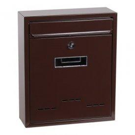 Poštansko sanduče braon 31x26x90cm Levior