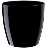 Saksija RIO crna 14x13cm DiMartino