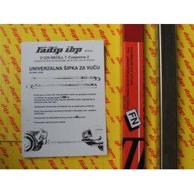 Šipka za vuču vozila - ruda FADIP