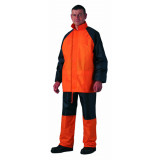 Vodootporno kišno odelo - kabanica (narandžasta) FLUO
