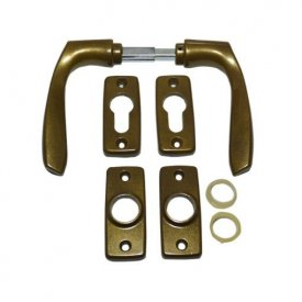 Štit i kvaka za metalna vrata više boja