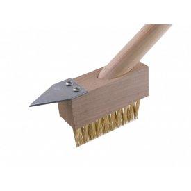 Četka za fugne - čišćenje behatona za mahovinu i korov - mesing