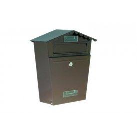 Poštansko sanduče braon 29x36x11cm Levior