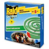 Rasterivači komaraca - spirale protiv komaraca 10kom. RAID