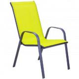 Baštenska stolica - žuta COMO